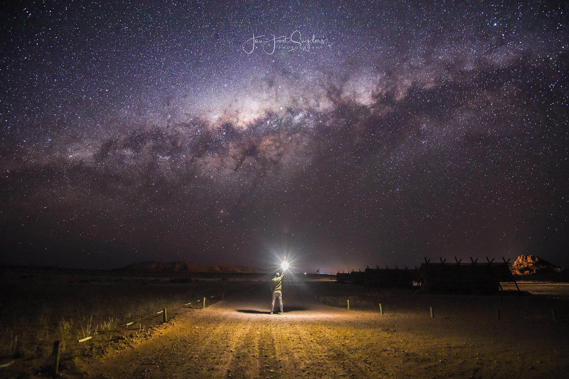 Milky way Namibia